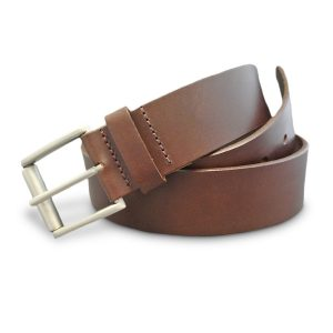 Real Leather Belt (Medium Brown)