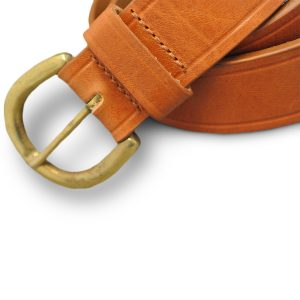 Real Leather Belt (Tan) 2